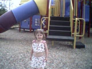 Ariel at playground